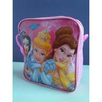 Cartera Carterita Bolsito Bolso Niña Princesas Barbie