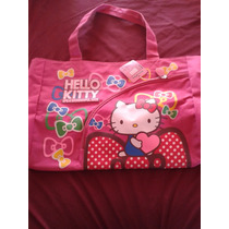 Bolsos Hello Kitty Grande Rosa