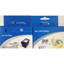 Oferta Combo Cartuchos Genéricos 92 Negro Y 93 Color