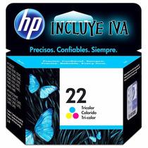 Cartucho Hp 22 Tricolor C9352al - Originales - Nuevos