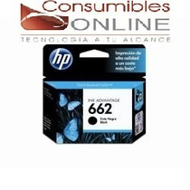 Cartucho Hp 662 Negro / 662 Color Originales Cada Uno