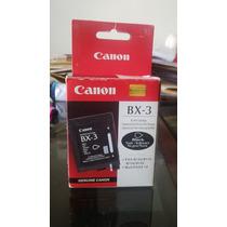 Cartucho Para Fax Canon Bx-3 Original