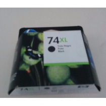 Cartuchos Hp 74 Xl Negro 100% Original