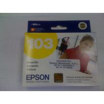 Cartucho Epson T1034 Yellow, Stylus T40w, Tx600fw, Tx550w