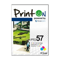 Printon Cartucho Compatible Con Hp #57, Color C6657a , Pto57