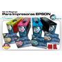 Kit 400ml Tinta Dags Hd K3 Epson Tanque Hermetico Recargable