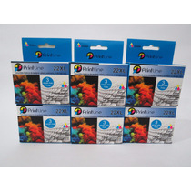 Cartuchos Hp Genericos 22 Color Xl Compatible Printline