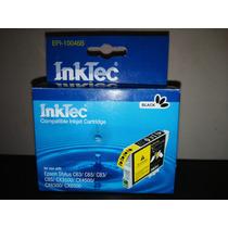 Cartucho Inktec Epi-100046b Color Negro Para Epson Stylus