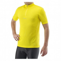Maillot Para Ciclismo,amarillo, Importado,manga Corta,b