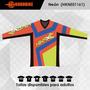 Jersey De Motocross - Neón - Precio De Introducción