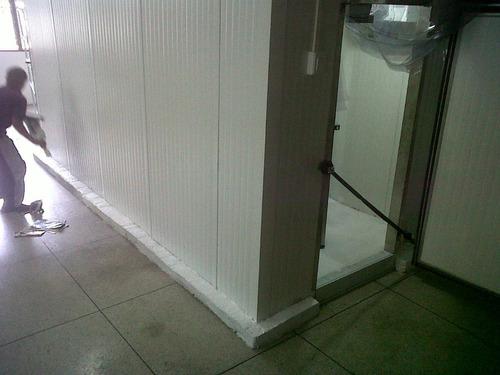 Cavas Cuarto Cámaras De Refrigeracion Blancas