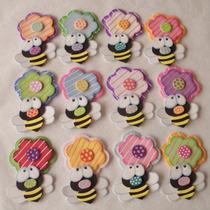 Recuerdos En Foami Flores, Mariposas