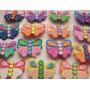 Recuerdos En Foami Listos Para Enviar: Flores, Mariposas
