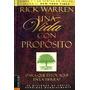 Libro, Una Vida Con Propósito De Rick Warren 100% Original.