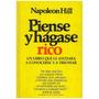 Libro, Piense Y Hágase Rico De Napoleon Hil. ( Libro Grande)