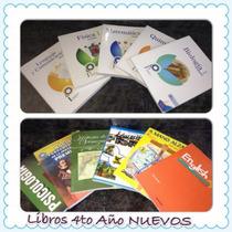 Libros De 4to Año Nuevos Sin Uso Los 11 Libros Santillana