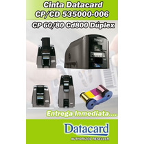 Cintas - Ribbon Datacard Ymckt-kt Series Cp/cd 535000-006