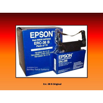 Cintas Erc 38 Epson Original Somos Tienda 100% Garantizadas