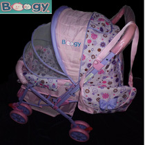 Coche Para Bebés Niña,boogy + Pañalera 3 Posiciones *nuevo*
