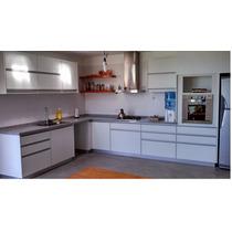 Cocinas Modernas Con Tirador De Perfil De Aluminio