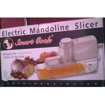 Mandolina Rebanadora Electrica Smart Cook 2869 Xavi