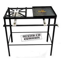 Reverbero,cocina,primo + Plancha 70x35x80cm