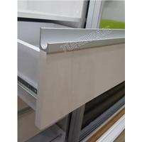 Tirador Perfil D Aluminio Cuadrado Herraje Accesorio Cocina