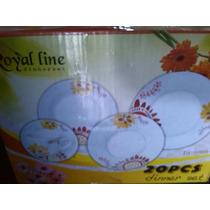 Vajilla 20 Piezas De Porcelana