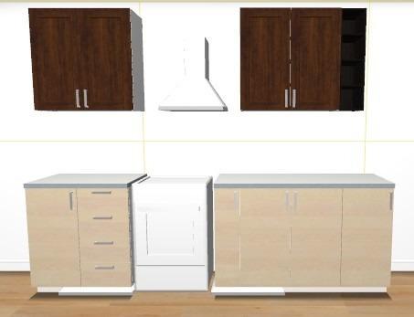 Cocina empotrada modular para 3 metros lineales oferta   caracas ...