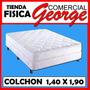 Colchon Ortopedico Paradise Matrimonial 1,40 X 1,90 Mts 14 A