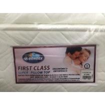 Colchon Matrimonial First Class 1.40x1.90 Ortopedico Bondex