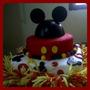 Torta Para Cumpleaños, Bodas, 15 Años, Bautizo, Comuniones