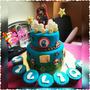 Torta Decorada Infantil Para Cualquier Ocasión