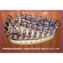 Llegaron!! Condensadores Usa 330 X 6.3v, Utiles En T/madres