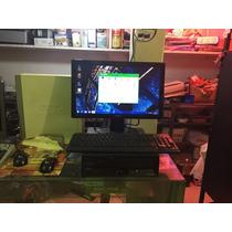 Computadora Lenovo Con Monitor Benq De 19led Mouse Teclado