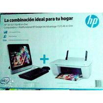 Computadora Hp All In One;1tb Ultima Generación+impresora Hp