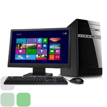 Computador Amd Dual Core / 2gb Ram / 500gb / Monitor Led 19