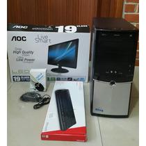 Computador I3 Con Monitor Teclado Y Mouse