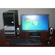 Pc Intel Dual Core+monitor Hp 19 Led Oferta!