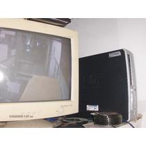 Computadora Pemtiun 4 Hpcompaq Completa Monitor Teclado Mous