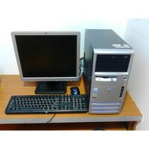 Computadora Hp Compaq Pentium 4 Con Tarjeta Wifi De 300mbps