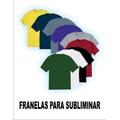 Franelas Unicolores Para Estampado