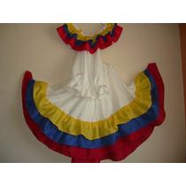 Traje Típico Venezolano Tricolor