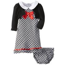 Vestido Ideal Para Navidad De Niña Talla 24 Meses
