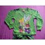 Pijamas Importadas Algodon Talla 2 Y 5 Campanita Y Dora
