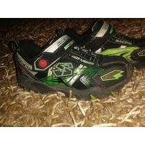 Zapatos Skechers Originales Niño T30 Usados Buen Estado