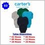 Bodys Set Conjuntos Carters 100% Original Somos Tienda