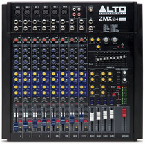 Consola De Audio Compacta Alto Zmx124 Fxu