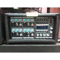 Consola Amplificada American Sound 4 Canales Usb 150wattsrms