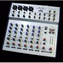 Consola Pasiva De 4 Canales Mx-420 Capitan Audio